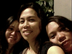 Me, lalai and my sister. All singles!